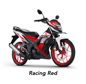 warna honda sonic 150R 2019 racing red merah
