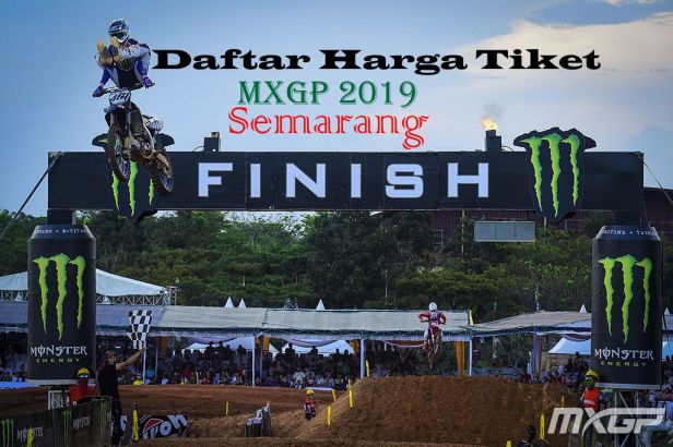 daftar harga tiket MXGP 2019 SEMARANG