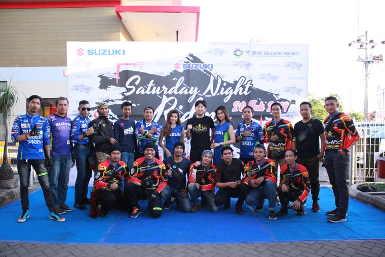 suzuki saturday night ride makassar