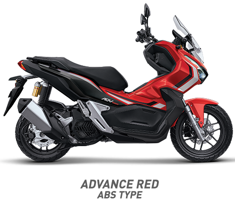 warna honda adv 150 abs 2019 merah red