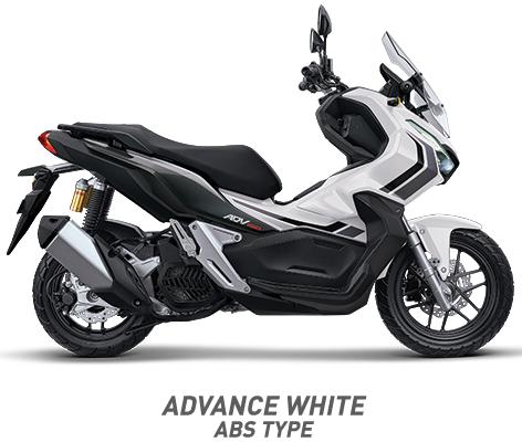 warna honda adv 150 abs 2019 putih white