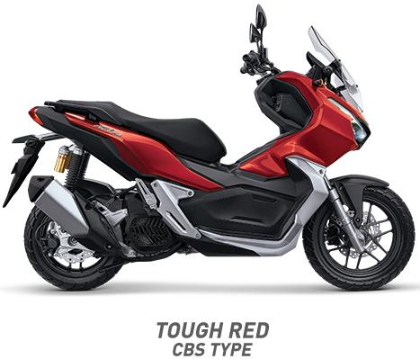 warna honda adv 150 cbs 2019 merah red