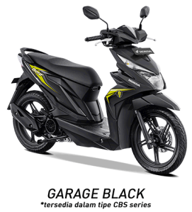 warna honda beat 2019 cbs hitam black