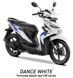 warna honda beat 2019 cw putih white