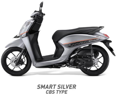 Warna Honda Genio 110 eSP 2019 cbs silver