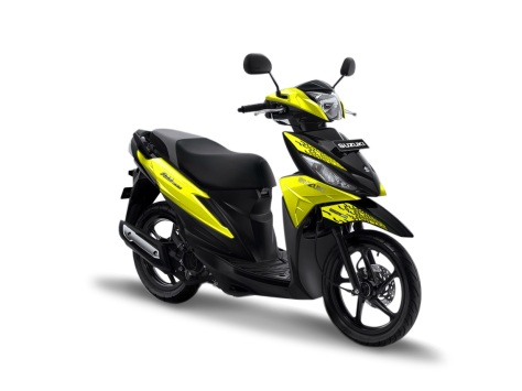 warna suzuki address 2019 playful kuning yellow