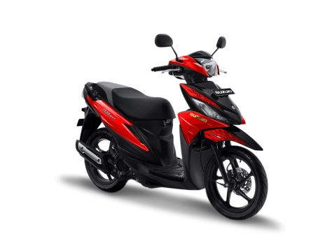 warna suzuki address 2019 playful merah red