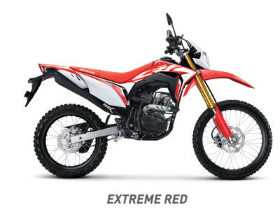Warna baru Honda CRF150L 2020 Extreme red merah