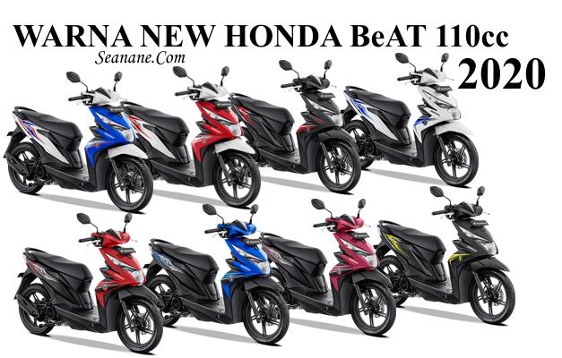 8 Warna Honda Beat 2020 Harga Terbaru Tipe Cw Cbs Dan Cbs Iss