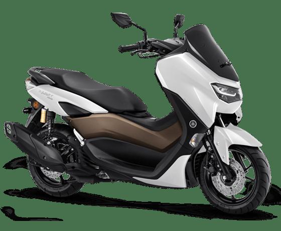 warna yamaha nmax 2020 terbaru glossy white putih