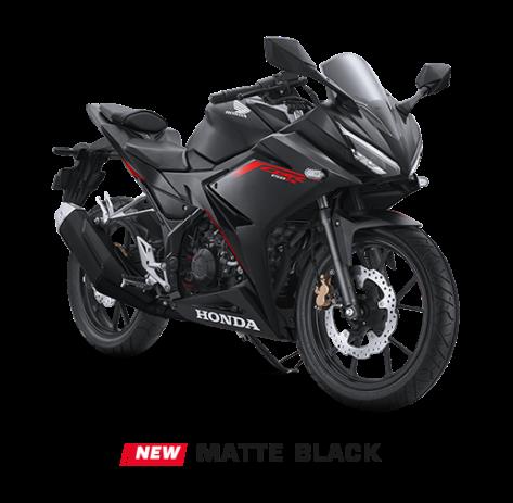 cbr150r matte black