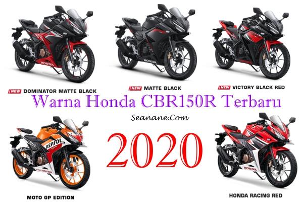 warna honda cbr150r terbaru 2020